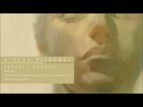 A test pillérei – Verebes György kiállítása a Collegium Hungaricumban