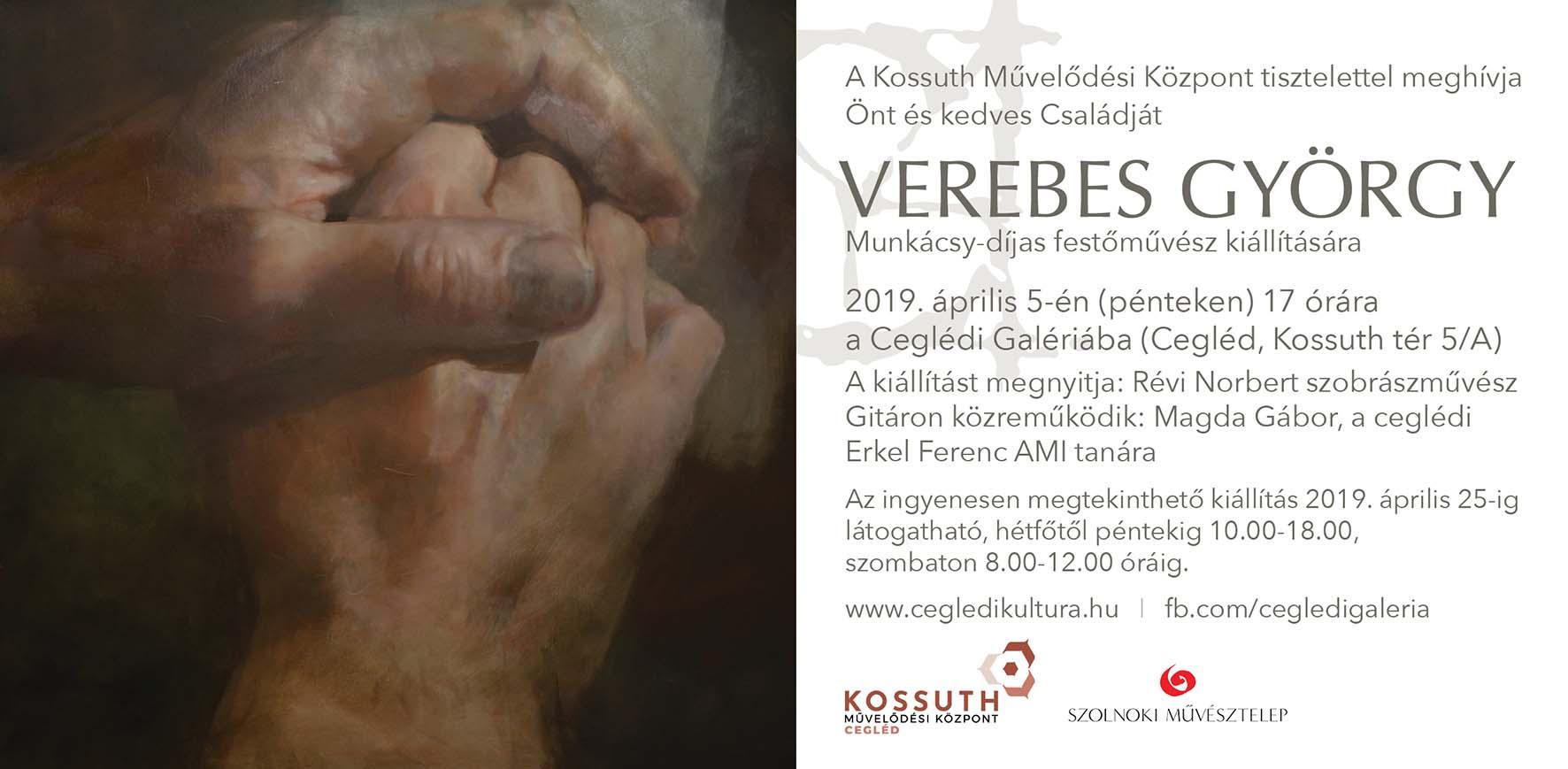 Verebes György kiállítása a Ceglédi Galériában